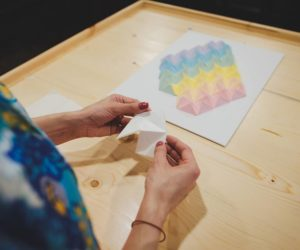 Оригами картина