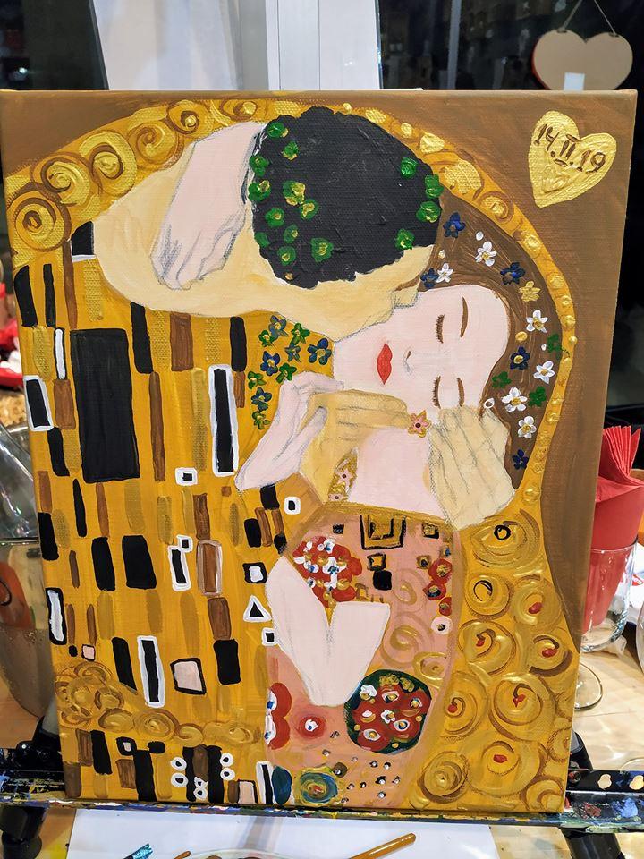 """""""Целувката"""" на Густав Климт (2)"""