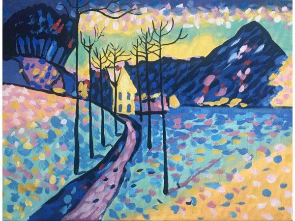 пейзаж на Кандински