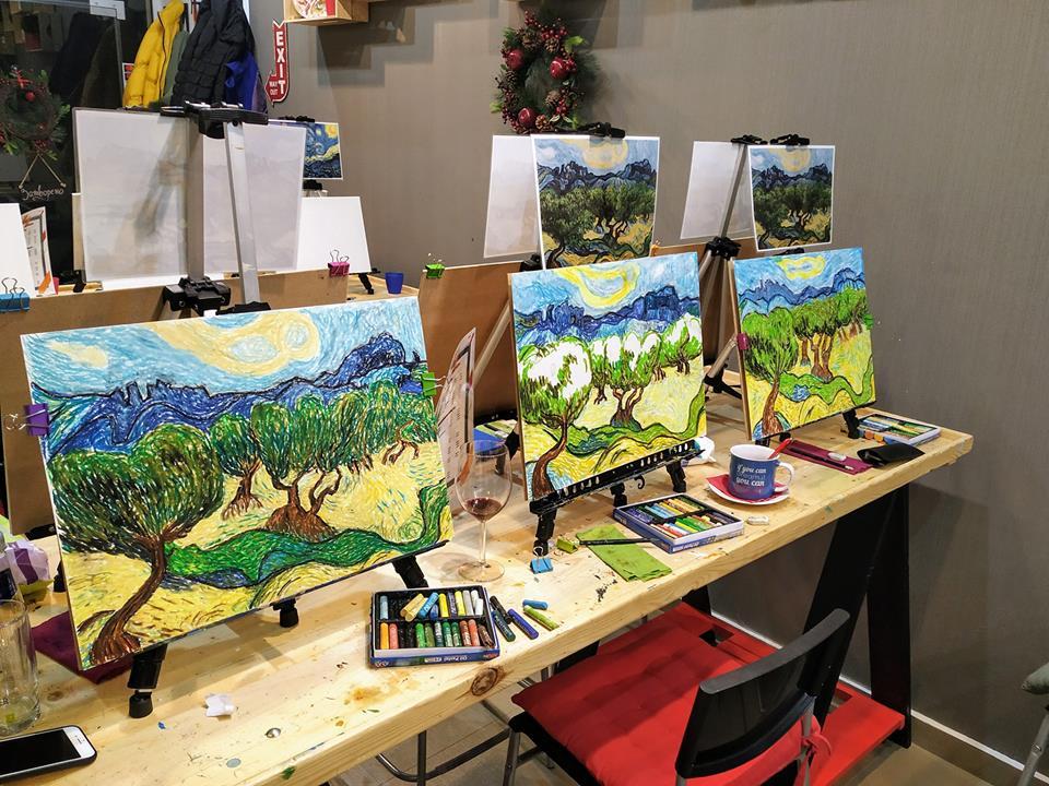 Винсент ван Гог Маслинови дървета (6)