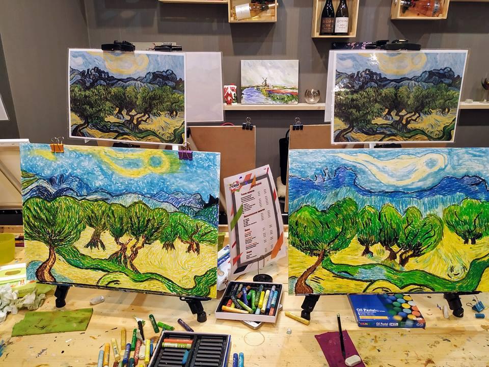 Винсент ван Гог Маслинови дървета (7)
