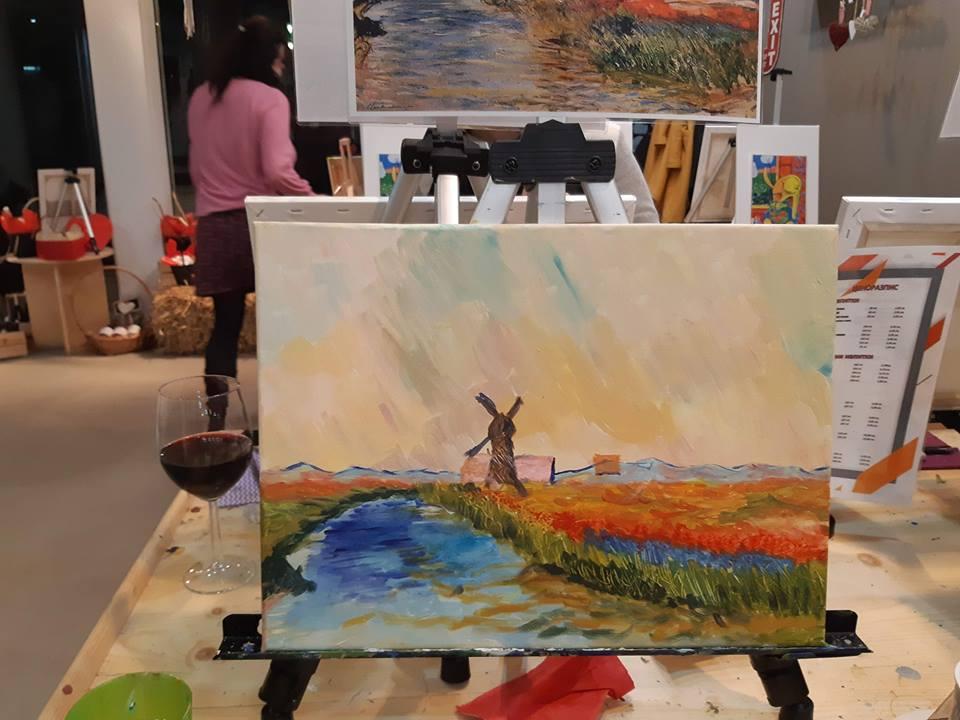 Клод Моне Поле с лалета в Холандия (6)