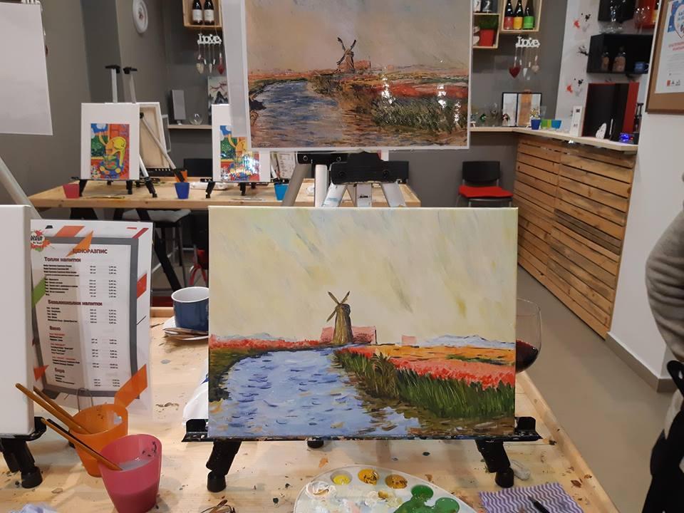 Клод Моне Поле с лалета в Холандия (7)