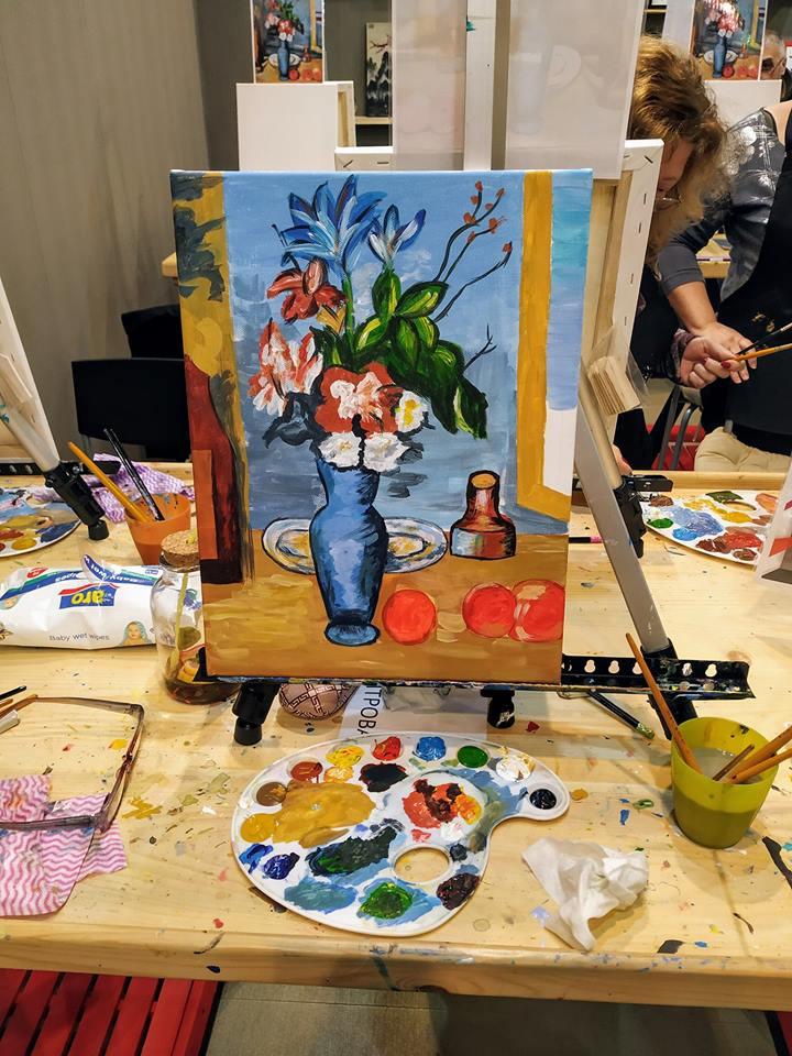 Пол Сезан Синя ваза (2)