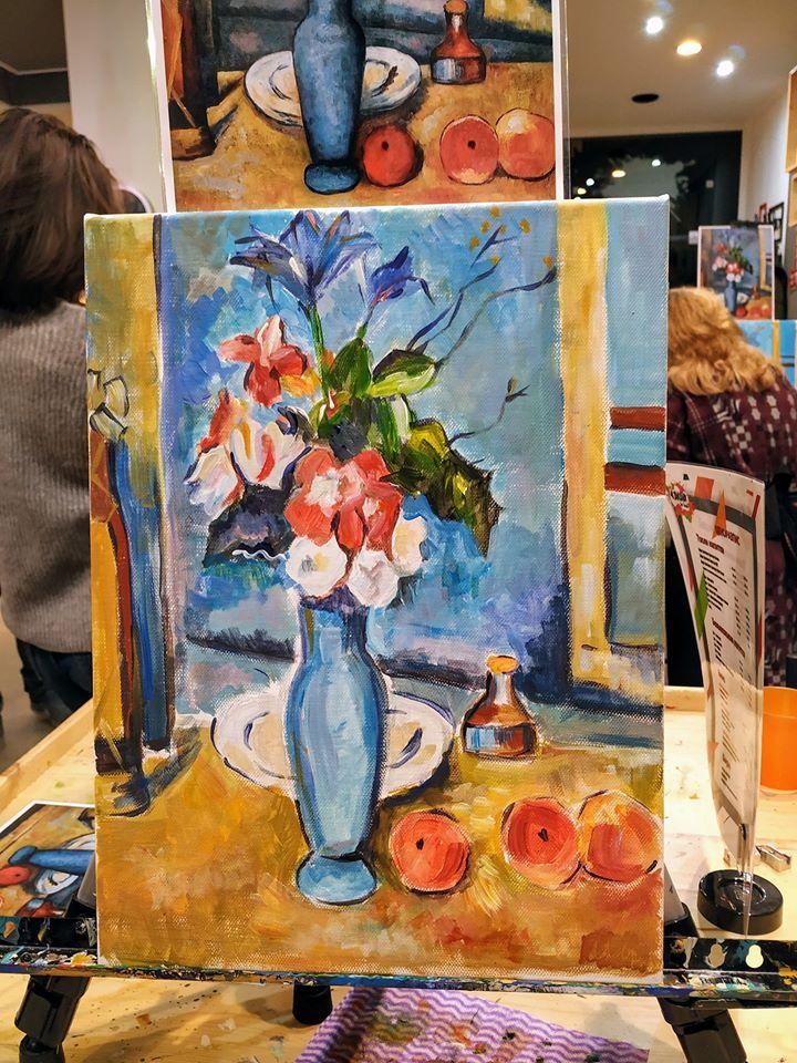 Пол Сезан Синя ваза (4)