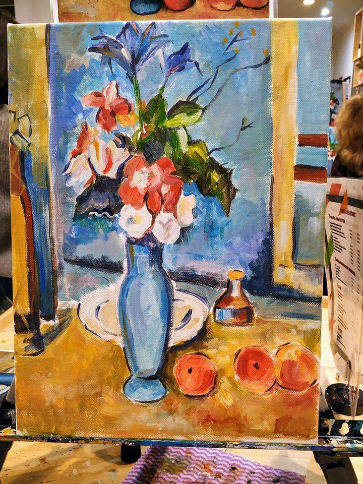 Пол Сезан Синя ваза (6)