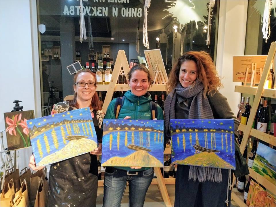 Винсент Ван Гог Звездна нощ над Рона (12)