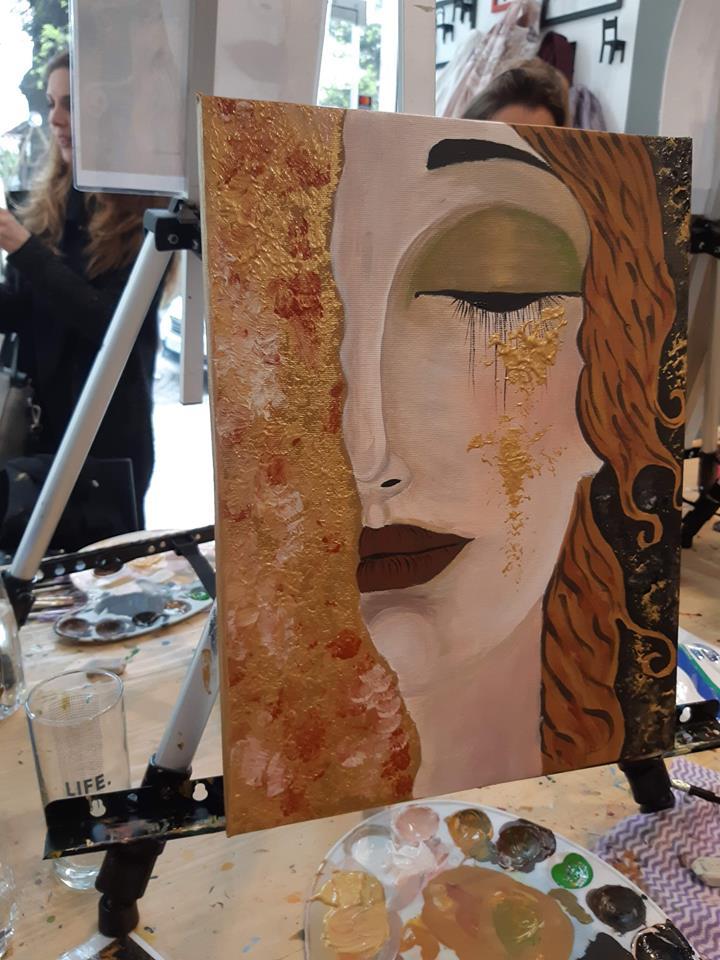 Густав Климт Златни сълзи (15)