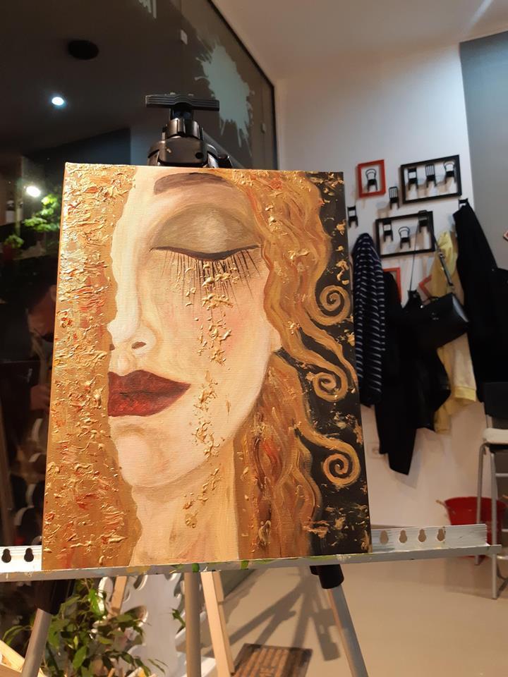 Густав Климт Златни сълзи (21)
