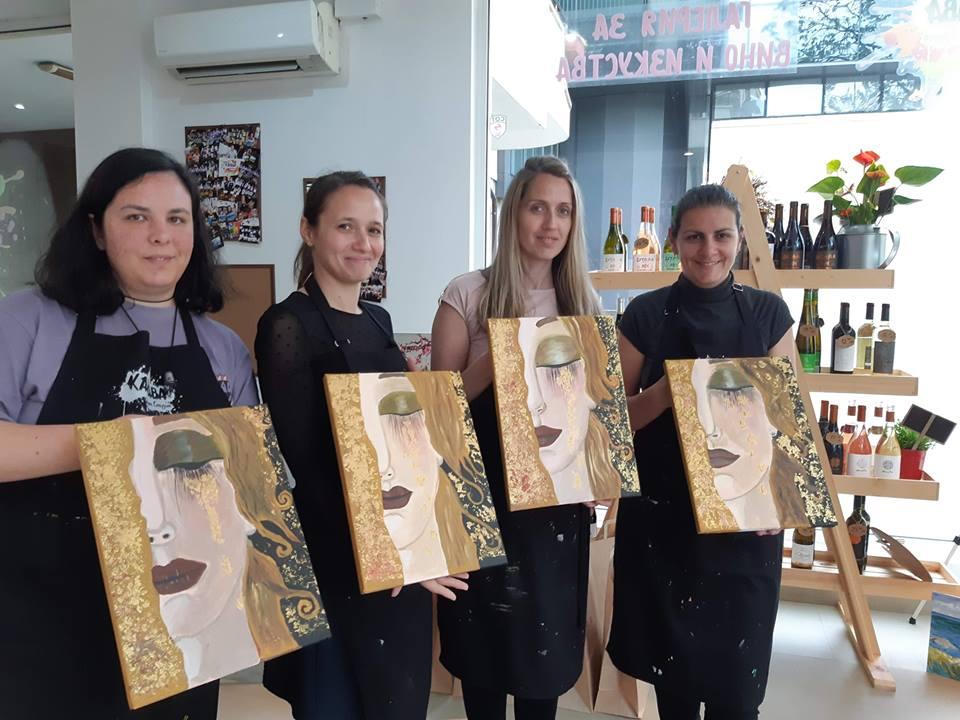 Густав Климт Златни сълзи (25)