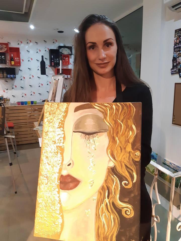 Густав Климт Златни сълзи (45)