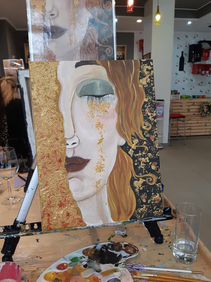 Густав Климт Златни сълзи (9)