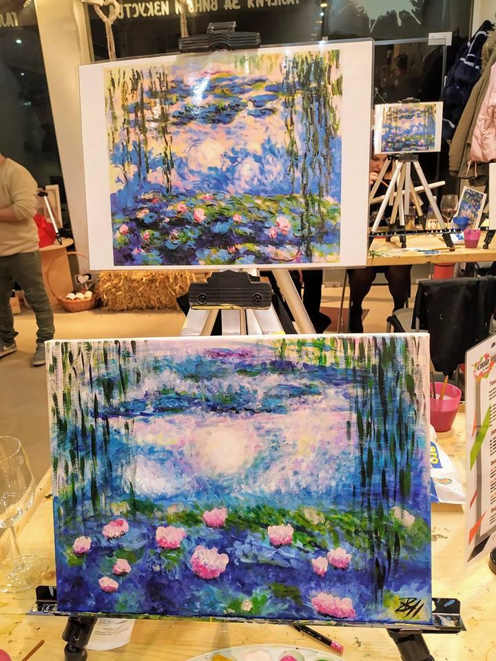 Клод Моне - водни лилии 12