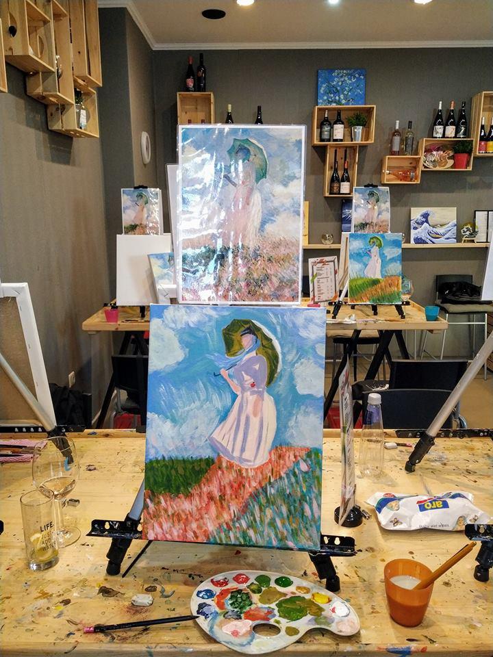 Клод Моне Жената с чадър (10)