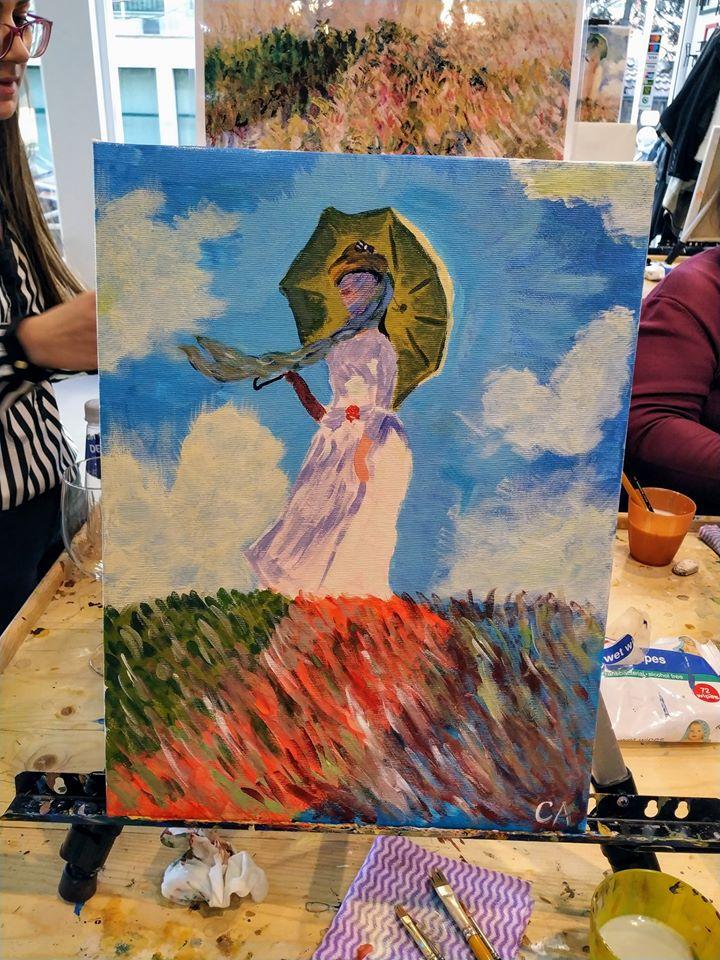 Клод Моне Жената с чадър (5)