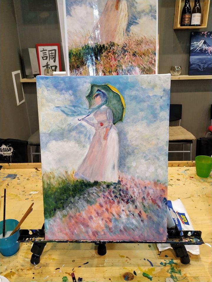 Клод Моне Жената с чадър (7)