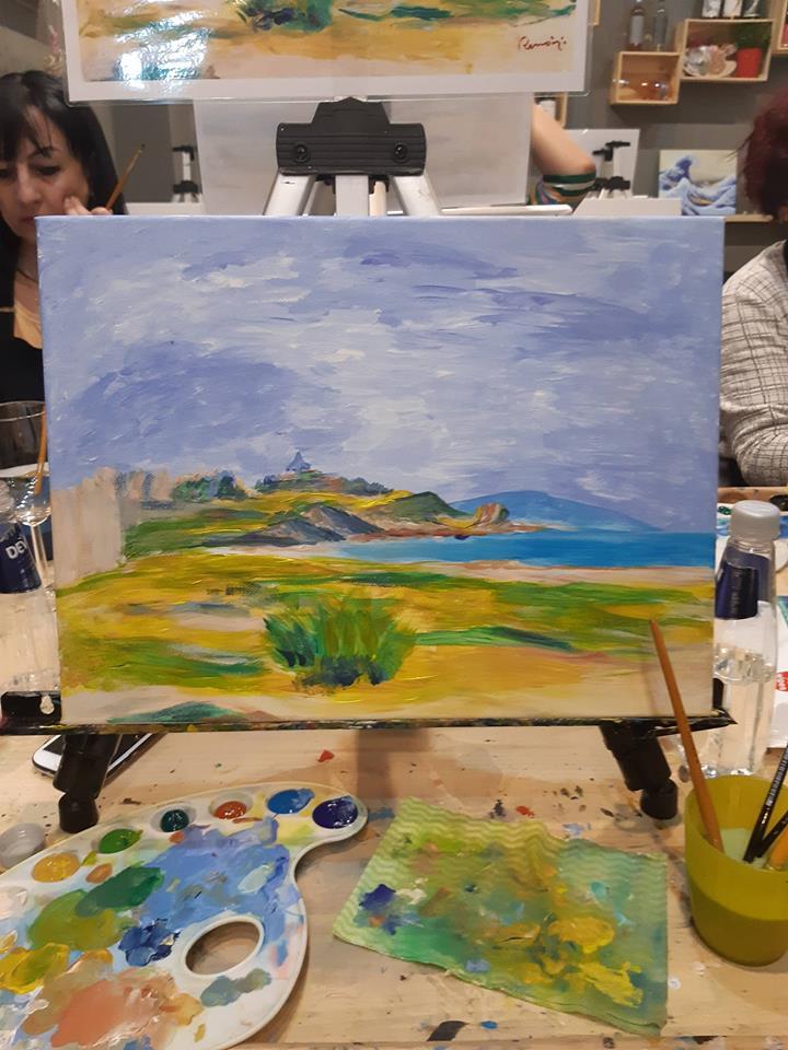 Реноар Морски бряг (4)