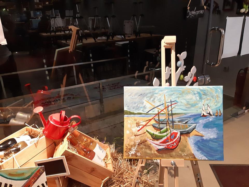 Винсент ван Гог Рибарски лодки (6)