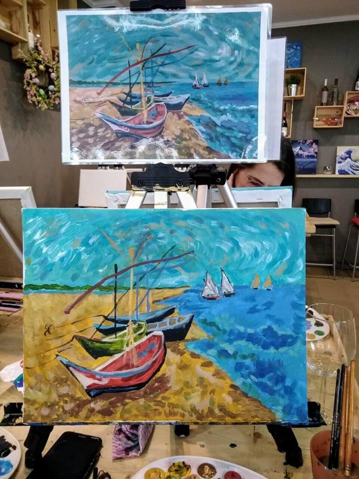 Винсент ван Гог Рибарски лодки
