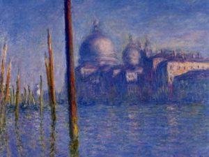 Гранд Канал във Венеция на Клод Моне