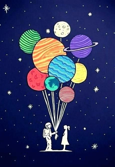 """Рисуване и забавление 1 Юни """"Ден на детето на тема """"Космоса и децата"""""""
