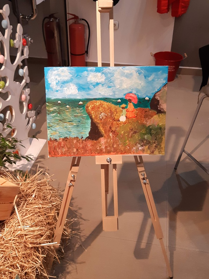 Клод Моне Край морето (2)