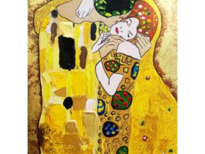 """""""Целувката"""" на Густав Климт"""