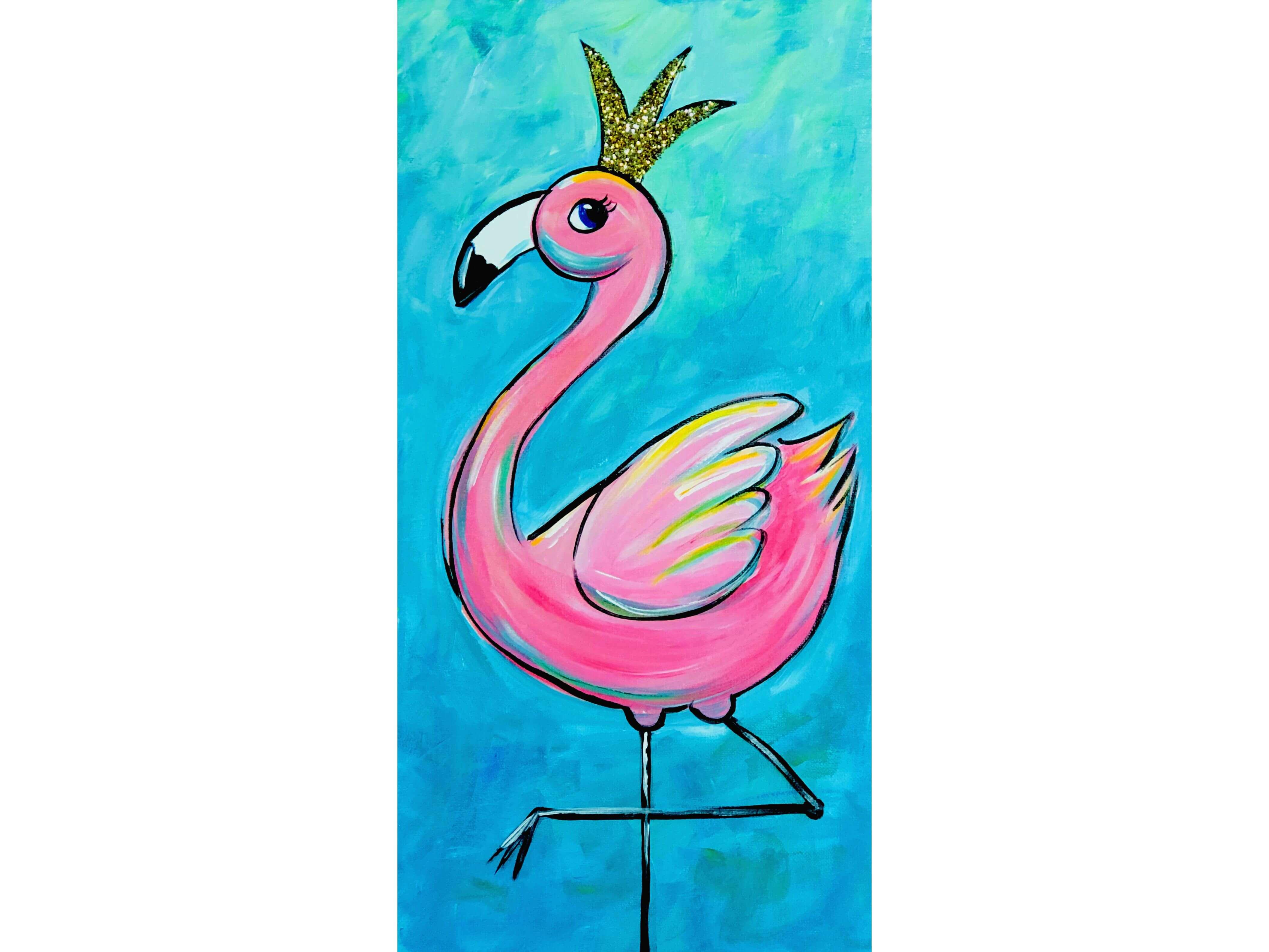 """Рисувам с мама """"Фламинго"""""""