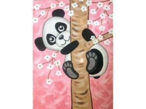 """Рисувам с мама """"Панда"""""""