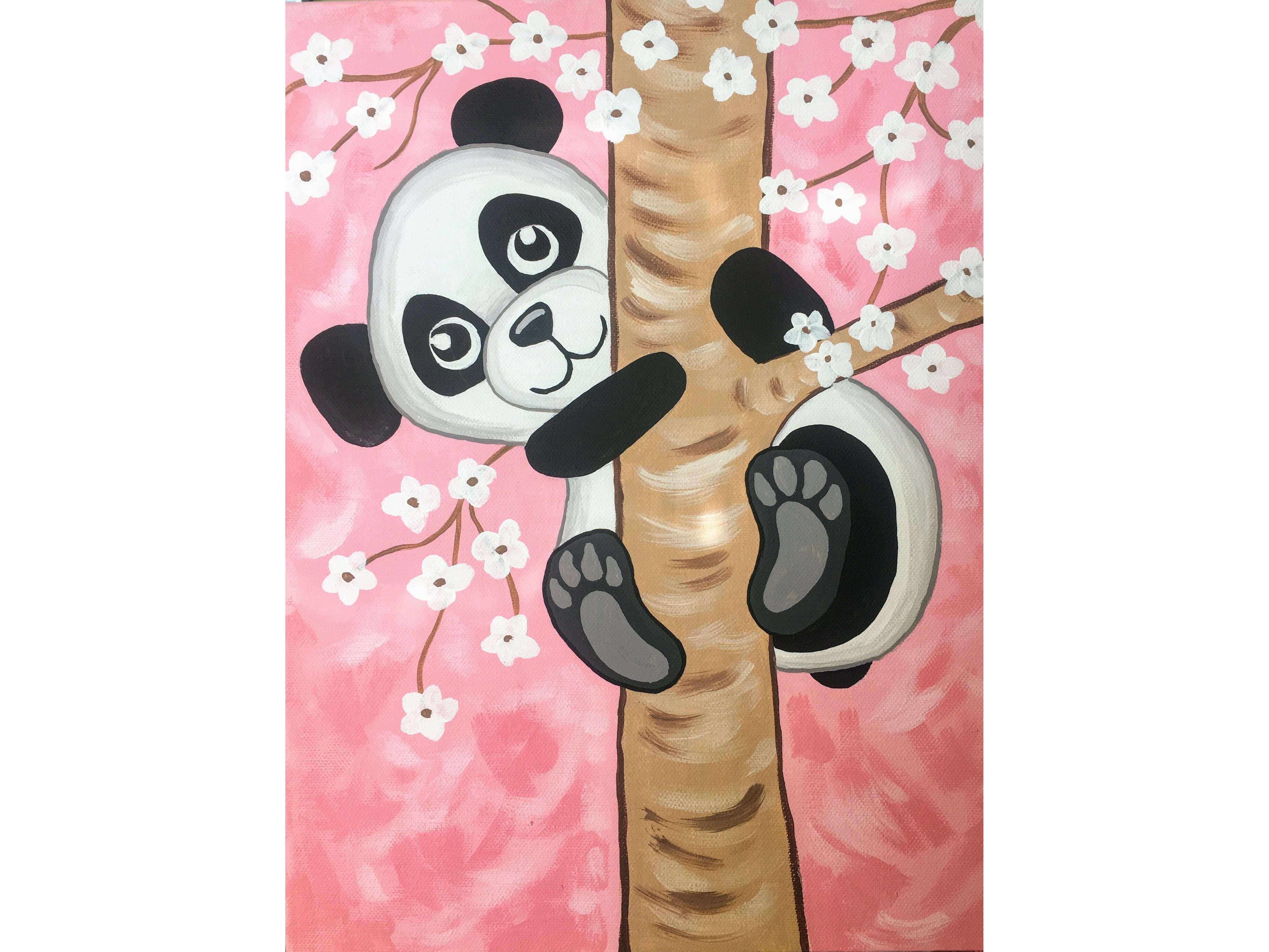 """Детска работилница по рисуване на сюжета """" Панда"""". Творческо забавление за деца и родители.  20.03.2021 г."""