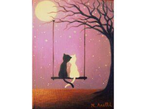 влюбени котета