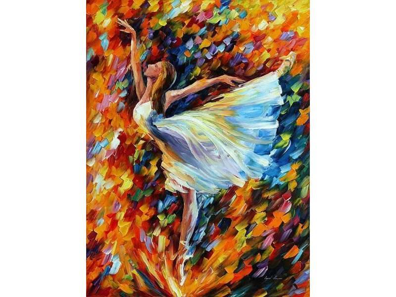 """Избягай от градската скука! Рисуваме """"В танца"""" с маслени бои в Южен Парк! 25.07.21"""